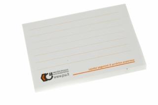 Lipnūs lapeliai užrašams ant perdirbto popieriaus